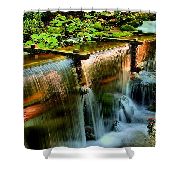 Flume Overflow  Shower Curtain