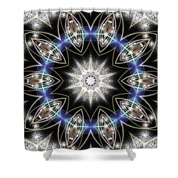 Flux Magnetism Shower Curtain