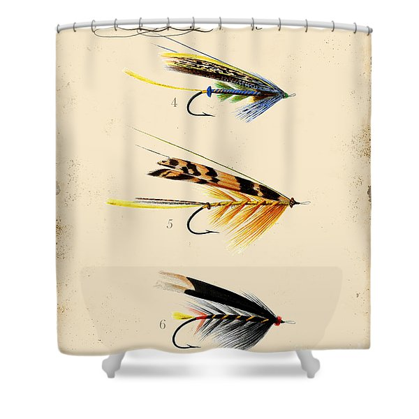 Fly Fishing-jp2095 Shower Curtain