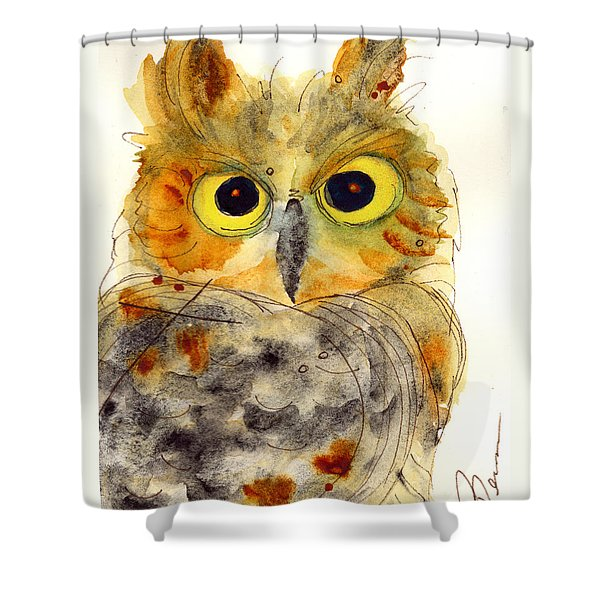 Flying Tiger Shower Curtain