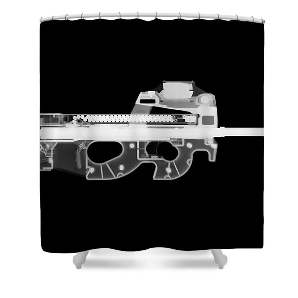 Fn Ps90 Reverse Shower Curtain
