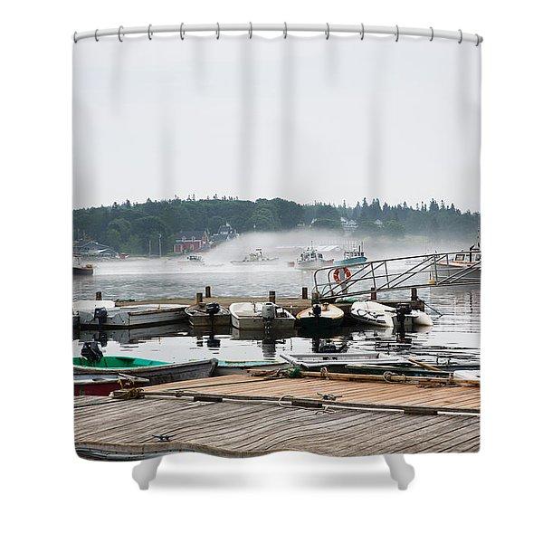 Fog Bound Shower Curtain