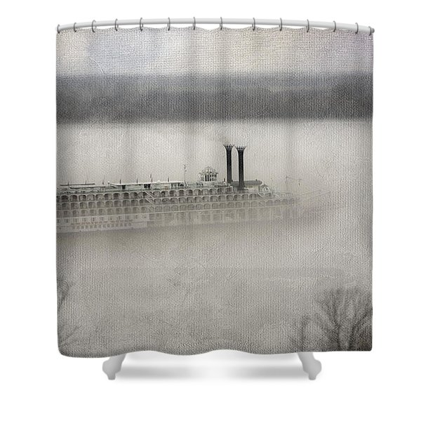 The American Queen  Shower Curtain