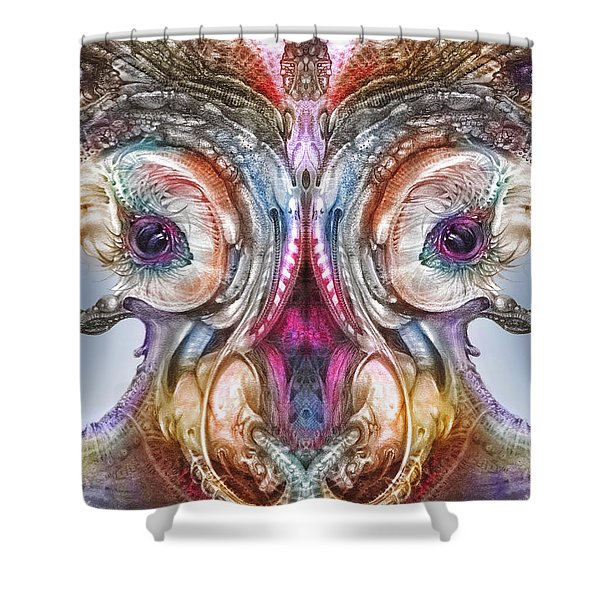 Fomorii Incubator Remix Shower Curtain