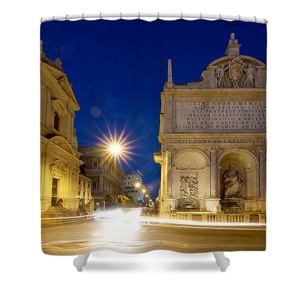 Fontana Dell'acqua Felice Shower Curtain