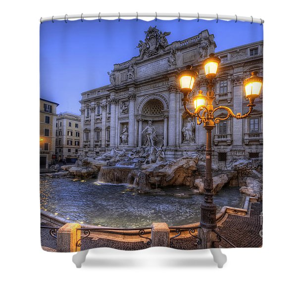 Fontana Di Trevi 3.0 Shower Curtain