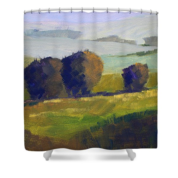 Foothills Landscape Shower Curtain