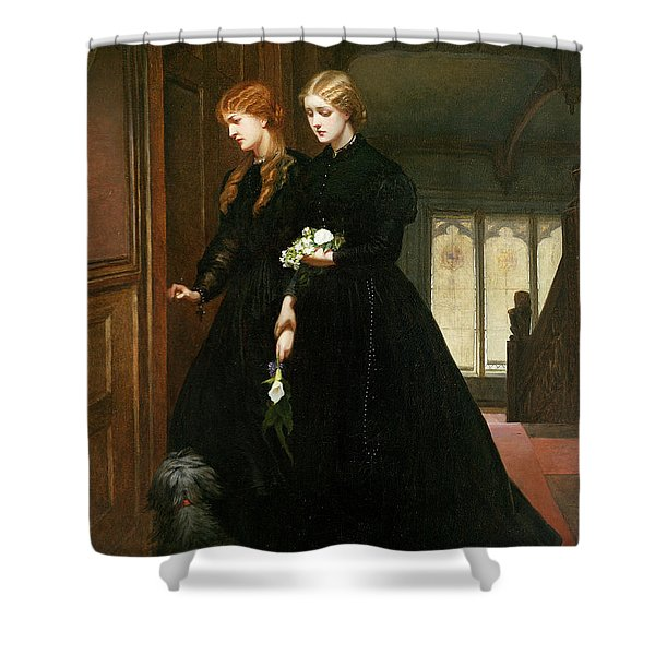 For The Last Time, 1864 Shower Curtain