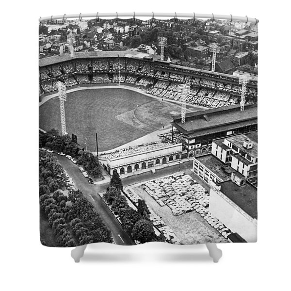 Forbes Field In Pittsburgh Shower Curtain