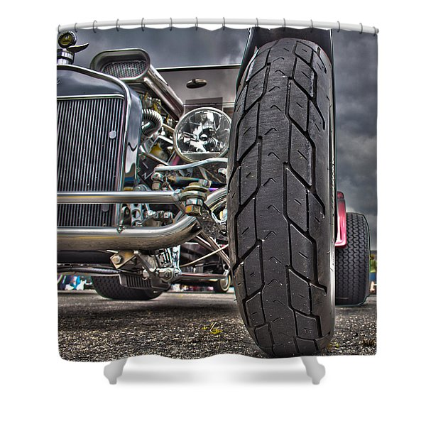 Ford In Hdr Shower Curtain