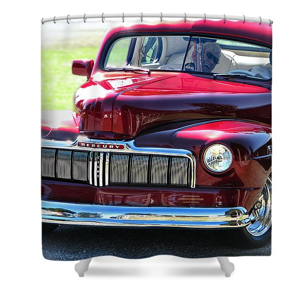 Ford Mercury Eight Shower Curtain