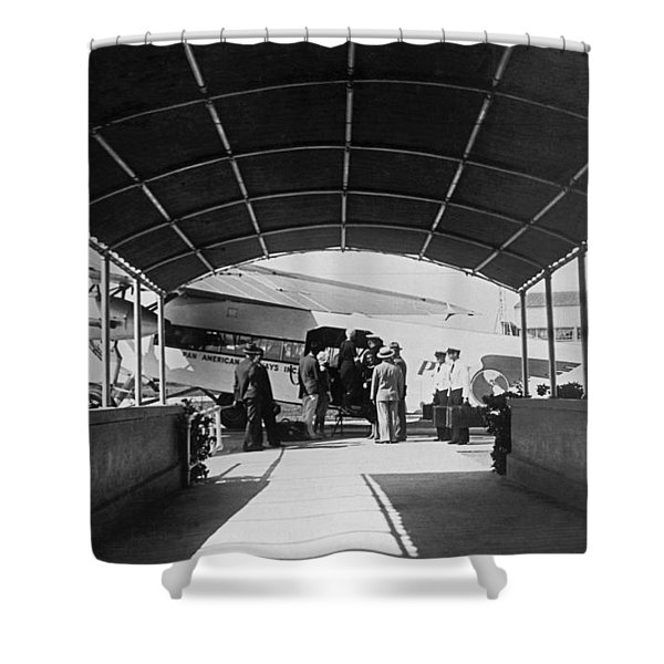 Ford Trimotor To Havana Shower Curtain
