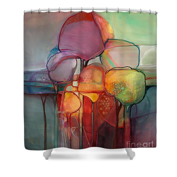 Forest Through The Trees Shower Curtain