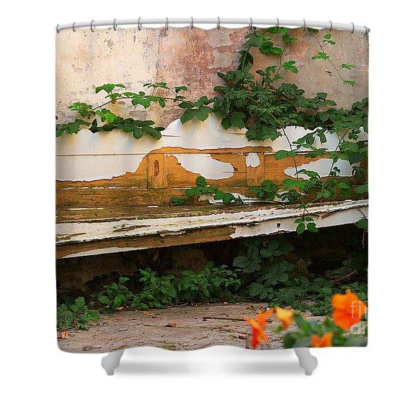 The Forgotten Garden Shower Curtain
