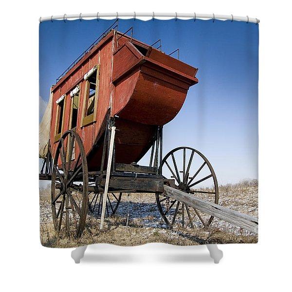 fort Kearney Nebraska NE USA Shower Curtain