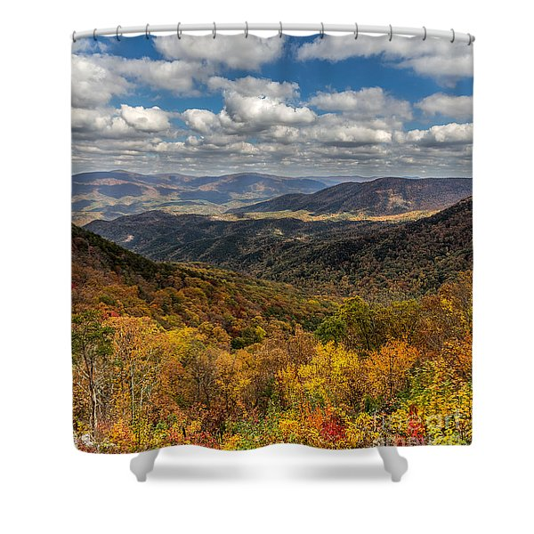 Fort Mountain Shower Curtain