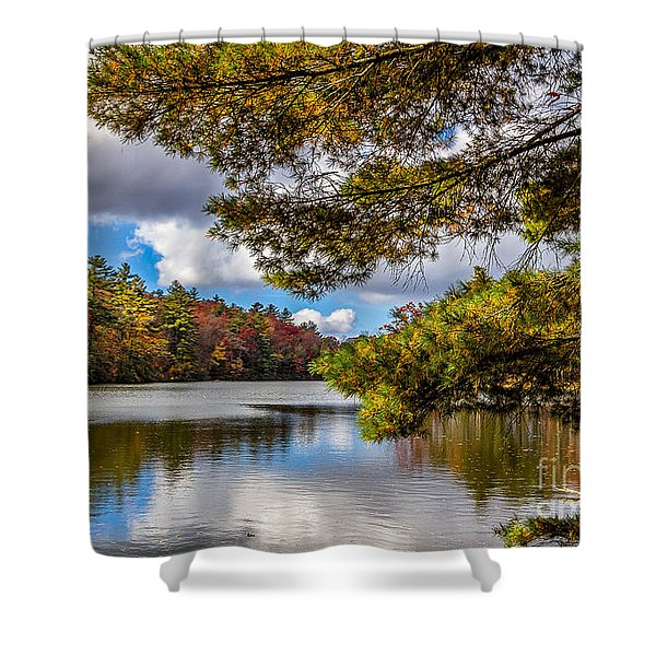 Fort Mountain State Park Shower Curtain