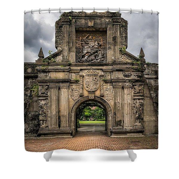Fort Santiago Shower Curtain