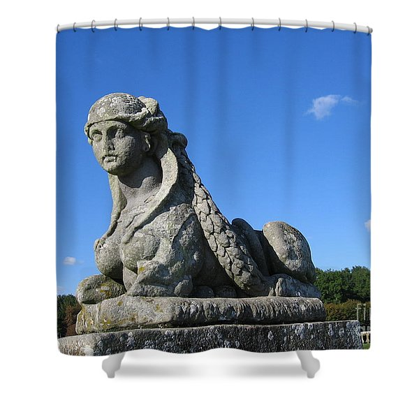Fountainebleau Twin1 Shower Curtain