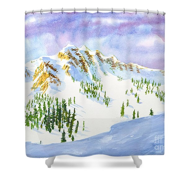 Four Sisters At Snowbasin Shower Curtain