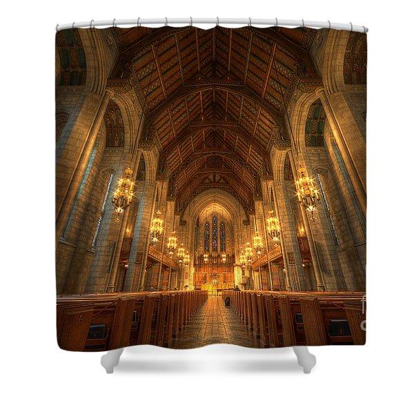 Fourth Presbyterian Church Chicago II Shower Curtain