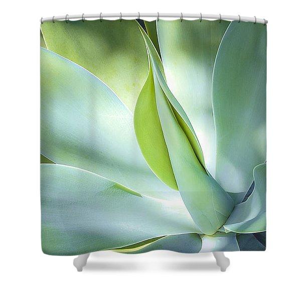 Fox Tail Agave Shower Curtain
