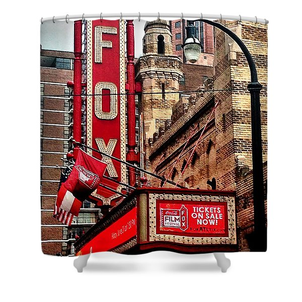 Shower Curtain featuring the photograph Fox Theater - Atlanta by Robert L Jackson