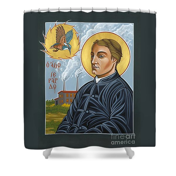 Fr. Gerard Manley Hopkins The Poet's Poet 144 Shower Curtain