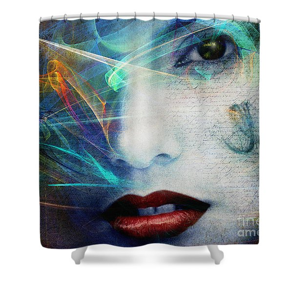 Fragrance Of Love Shower Curtain