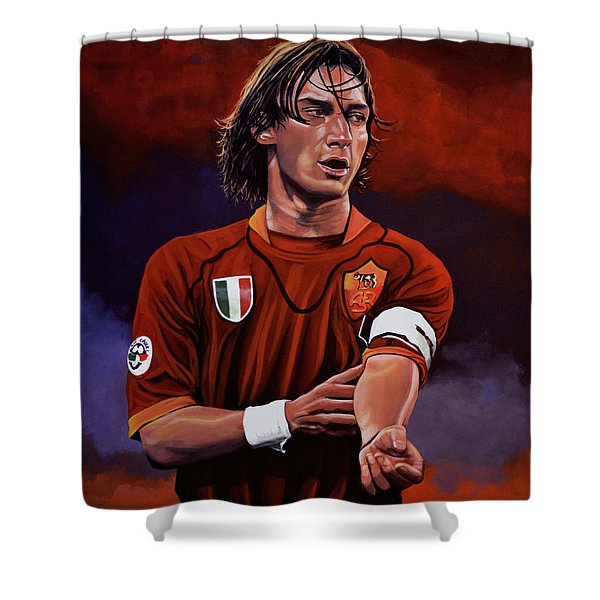 Francesco Totti Shower Curtain