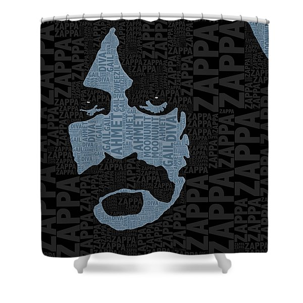 Frank Zappa  Shower Curtain