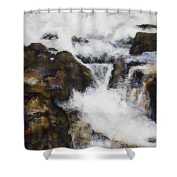 Free Flowing Shower Curtain