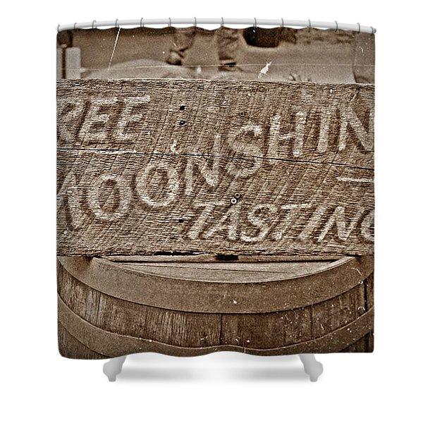 Free Moonshine Shower Curtain