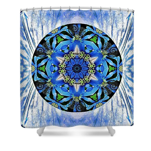 Freedom And Love Shower Curtain
