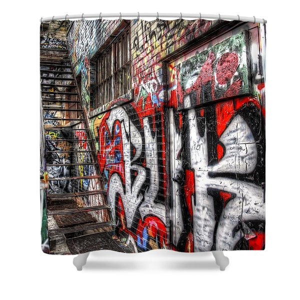 Freestyle Walking Shower Curtain