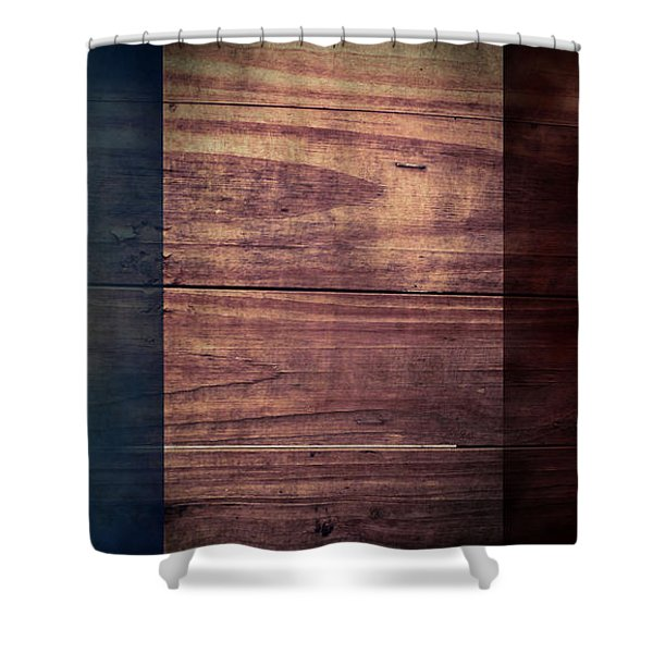 French Flag I Shower Curtain