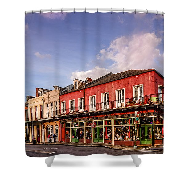 French Quarter Waking Up To A New Morning - New Orleans Louisiana Shower Curtain