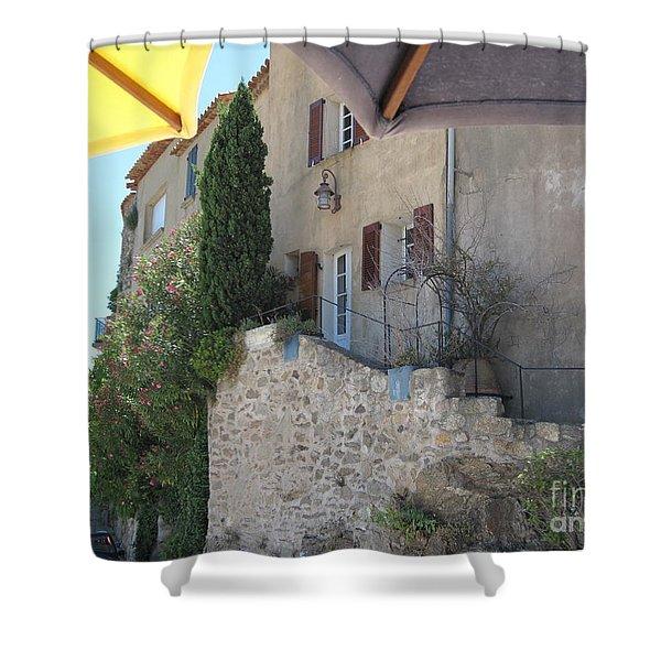 French Riviera - Ramatuelle Shower Curtain