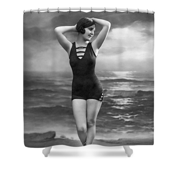 d58bef842b Vintage Bathing Suits Shower Curtains (Page #3 of 7) | Fine Art America