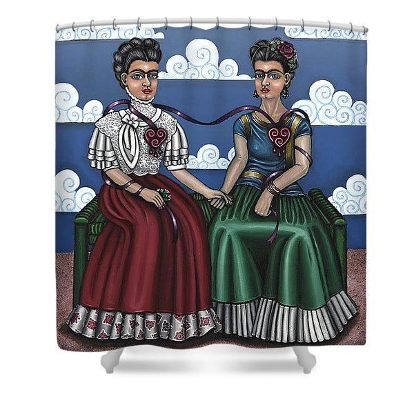 Frida Beside Myself Shower Curtain