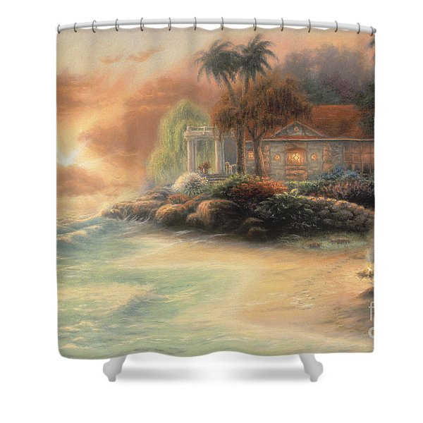 Friday Evening Summer Shower Curtain by Chuck Pinson
