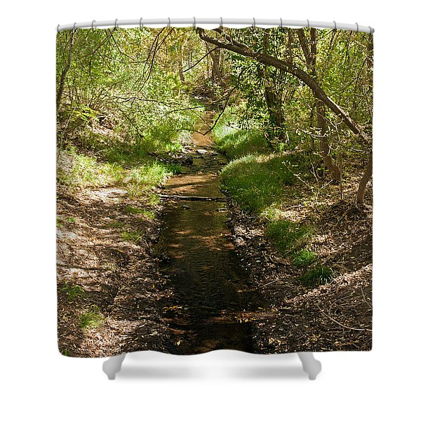 Frijole Creek Bandelier National Monument Shower Curtain