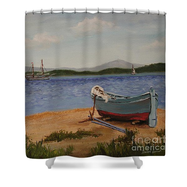 From The Shore Shower Curtain