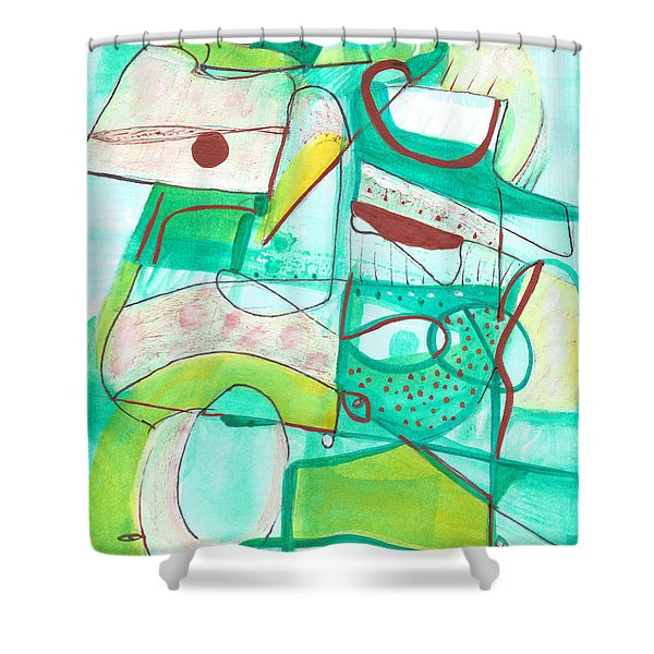 From Within #15 Shower Curtain