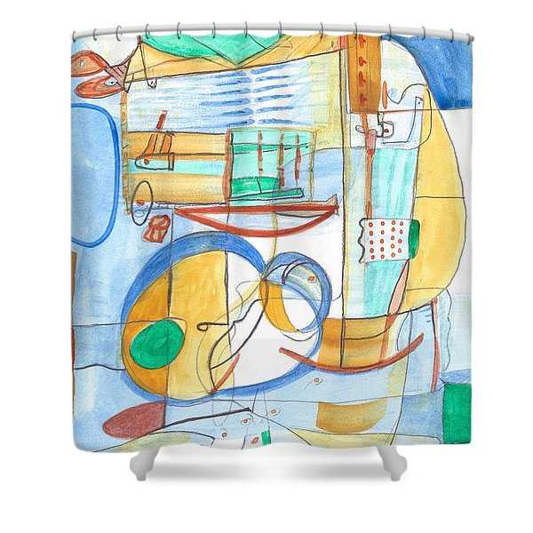 From Within 6 Shower Curtain