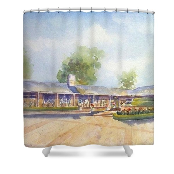 Front Of Home Shower Curtain