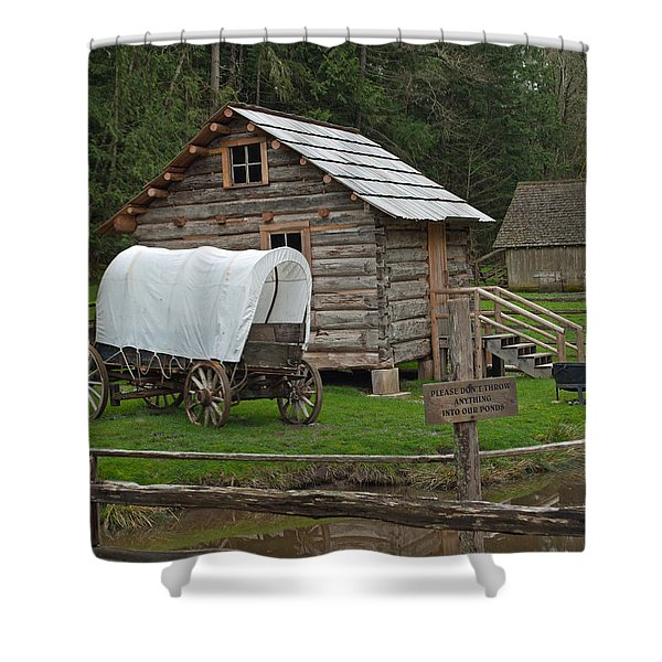 Frontier Life Shower Curtain