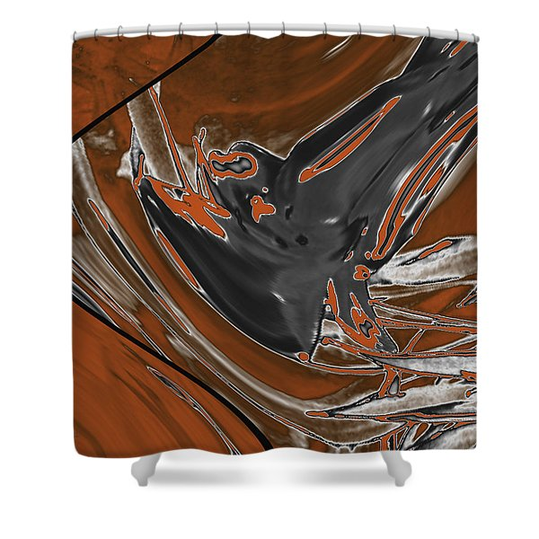 Frost And Woodsmoke 1 Shower Curtain