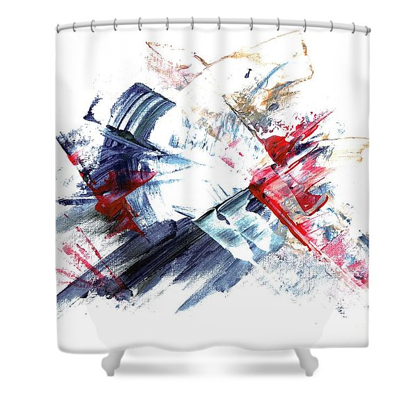 Frozen In Time / Space Shower Curtain
