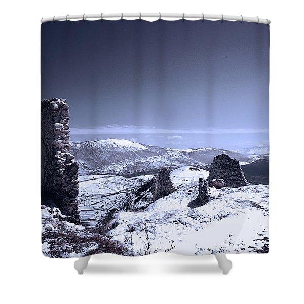 Frozen Landscape Shower Curtain